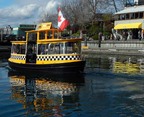 The Harbour Ferry in Victoria on Vancouver Island, Canada