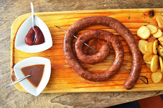 Metre sausage, Tacoa, El Sauzal, Tenerife