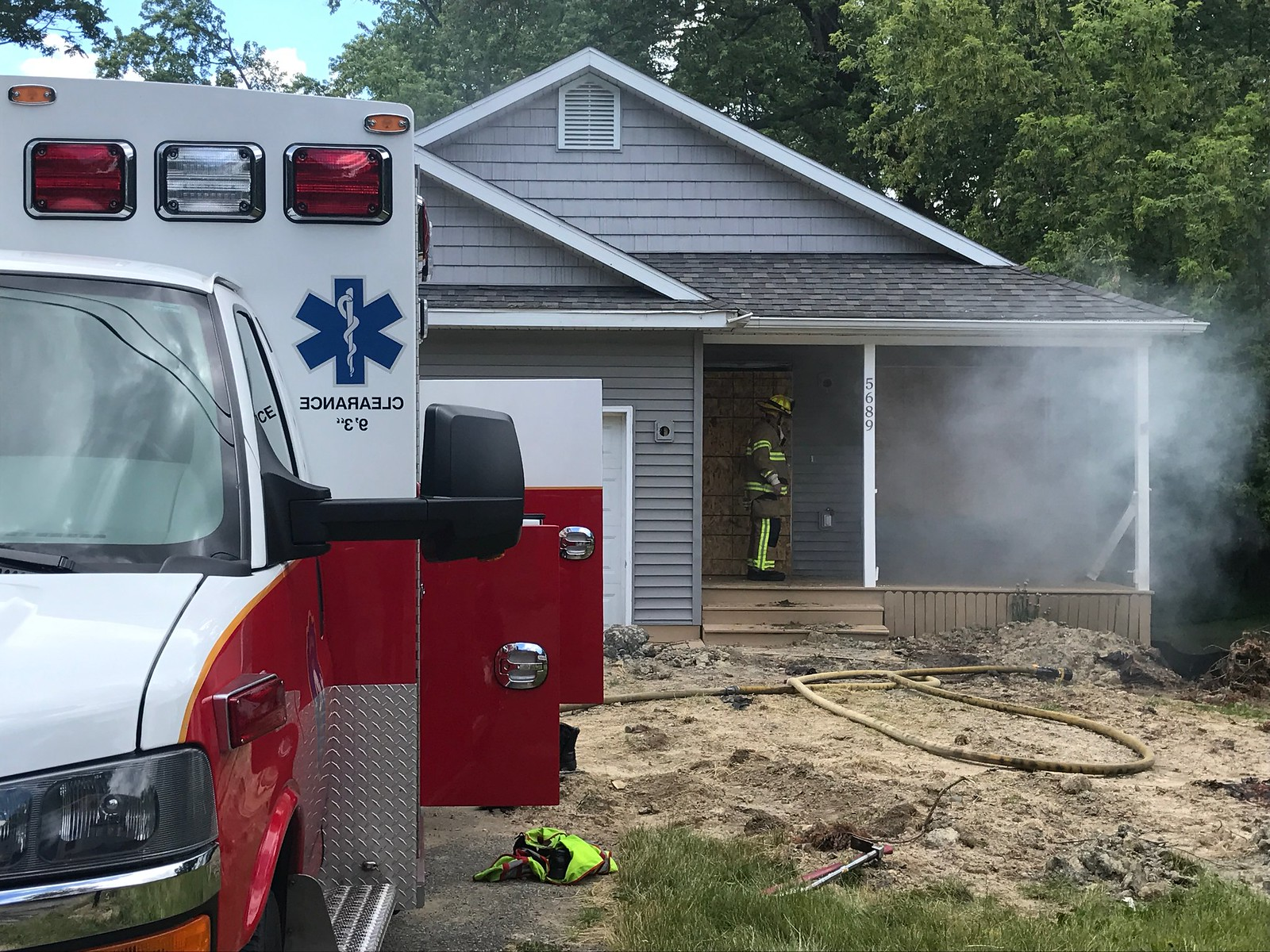 Donated Houses Help Firefighters
