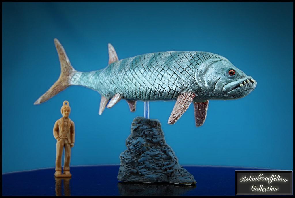 Xiphactinus ( 1:35 )   Paleo-Creatures   RobinGoodfellow ...
