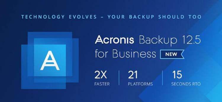 Acronis 12.5