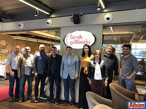 AGC Başkanı Mehmet Ali Dim ve AGC Yönetim Kurulu