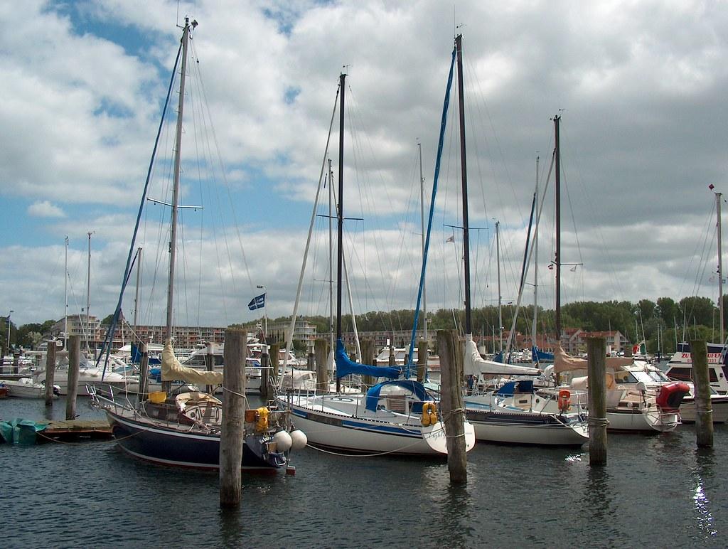 Germany - Travemünde - Sailing-Harbour - 3 | Travemünde (Ger… | Flickr