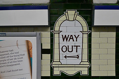 London - Underground Way Out