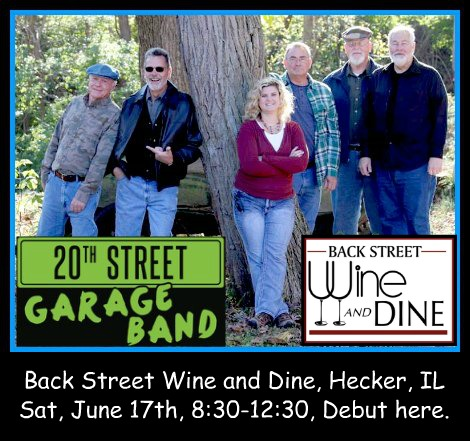 20th Street Garage Band 6-17-17