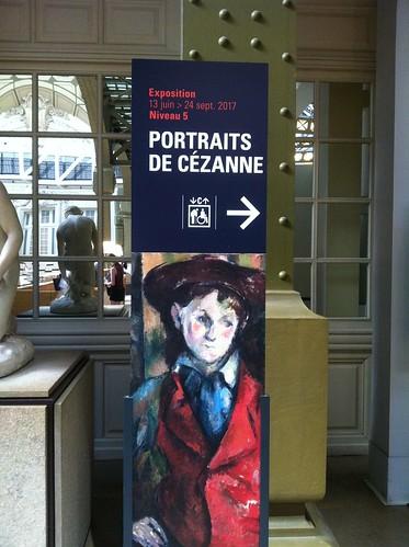 """Exposition """"Portraits de Cézanne"""" au Musée d'Orsay 2017"""