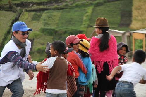 Mensajeros de la Misericordia de Quito llevó Hospitalidad a Zumbahua