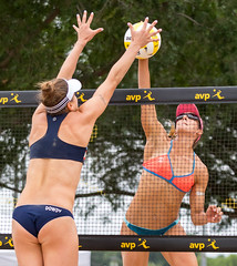 Professional Beach Volleyball