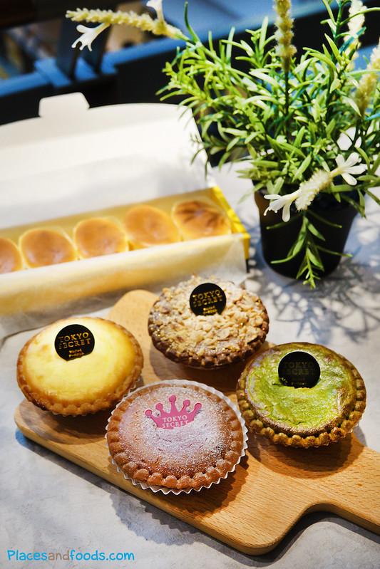 tokyo secret tarts and cheese cake