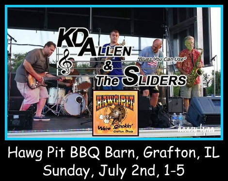 KD Allen & The Sliders 7-2-17