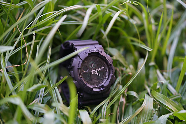 Duane Bacon G Shock Acer Promo Fashion Mens Wear Lifestyle Watch Grass