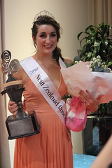 Niamh O'Sullivan, representing Taranaki after being selected as the 2017 PBT New Zealand Rose of Tralee