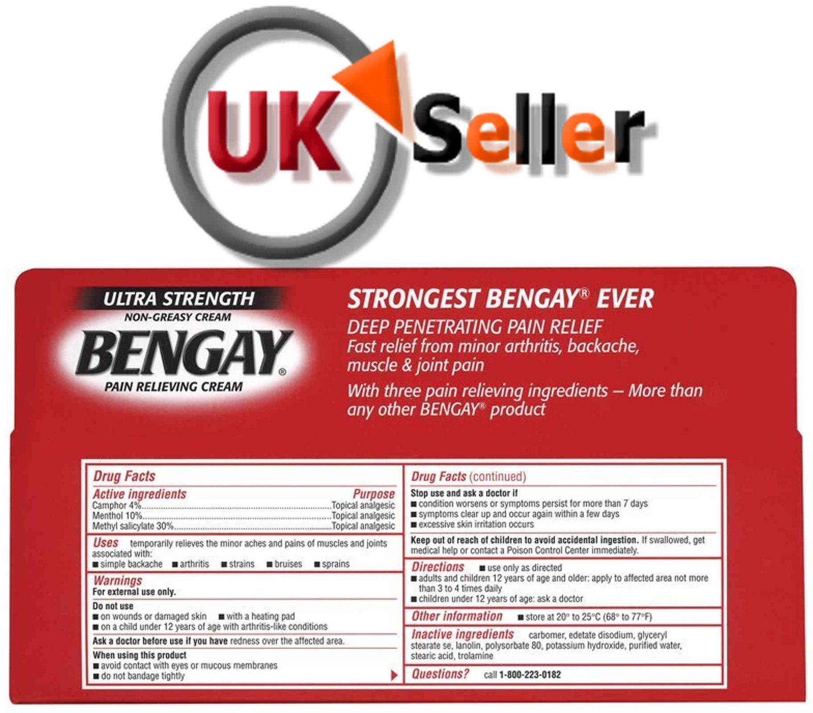 Bengay directions