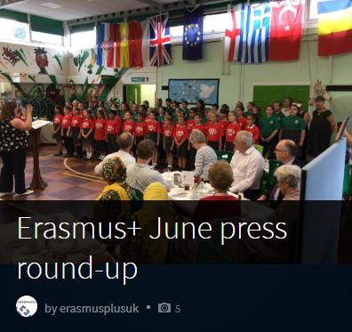 Erasmus+ June press round-up