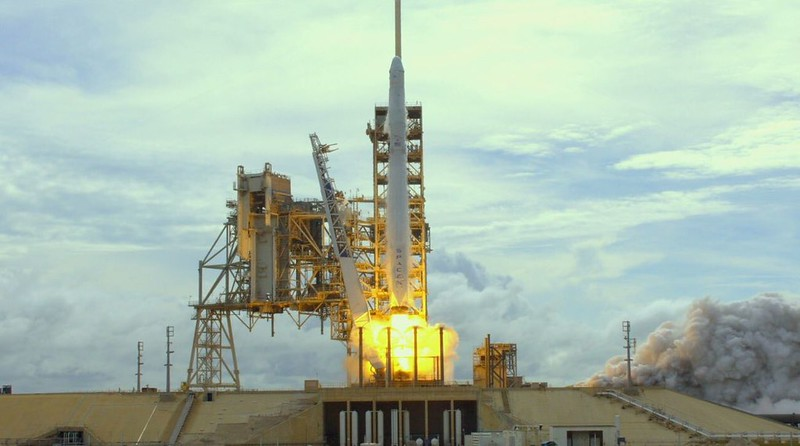 Falcon 9 с КА Dragon CRS-11 03.06.17
