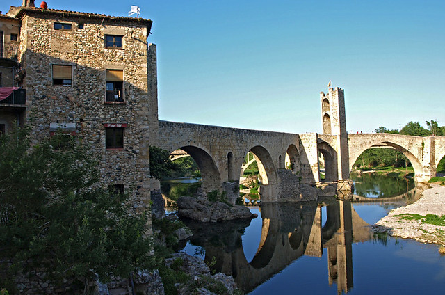 Besalu, Catalonia, Spain