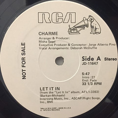 CHARM:LET IT IN(LABEL SIDE-A)