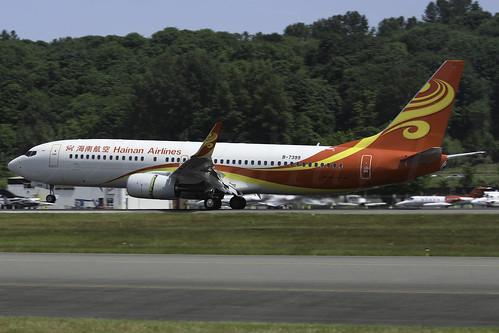 Boeing 737-84P(WL) Hainan Airlines B-7399 LN6433