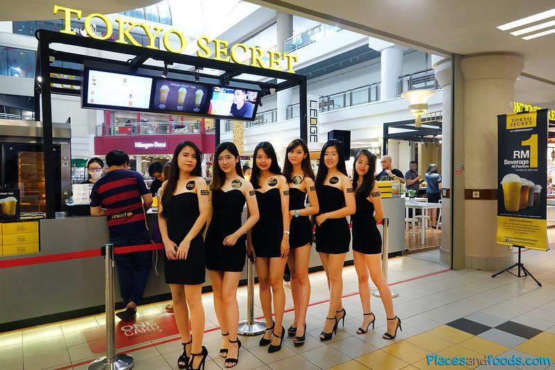 tokyo secret models