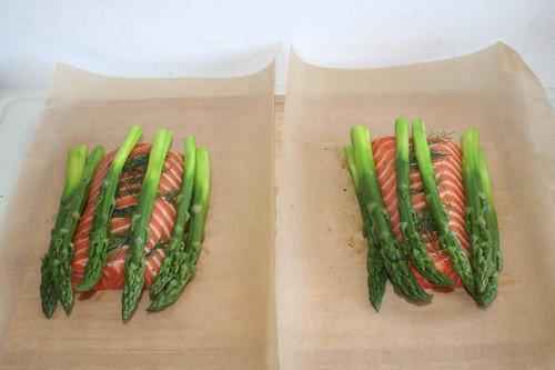 28 - Spargel dazu geben / Add asparagus