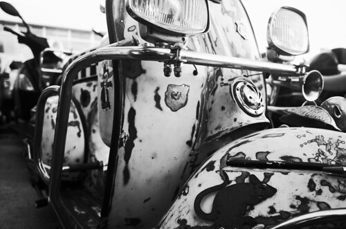 Vespa from hell. Ricoh GR