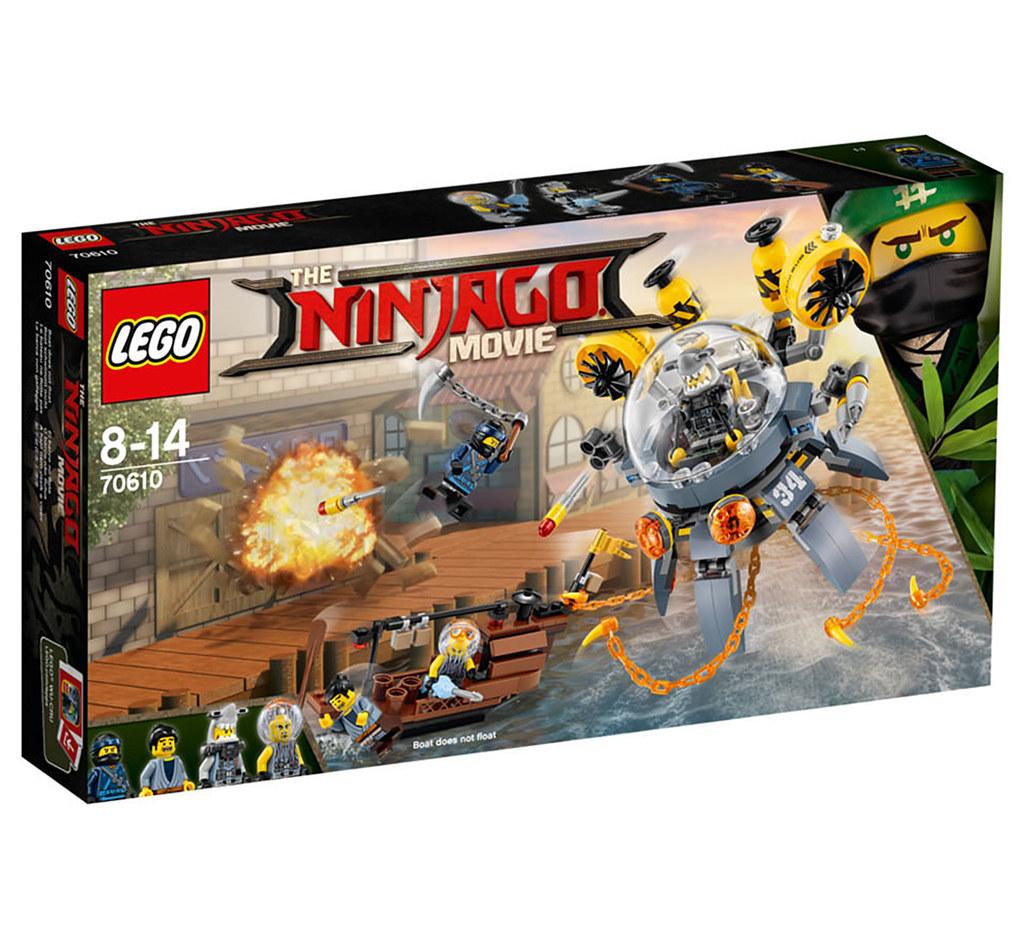 The LEGO Ninjago Movie 70610 - Flying Jelly Sub