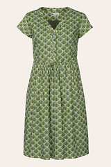 Seasalt green Shallots printed summer dress