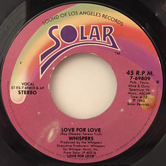 WHISPERS:LOVE FOR LOVE(LABEL SIDE-A)