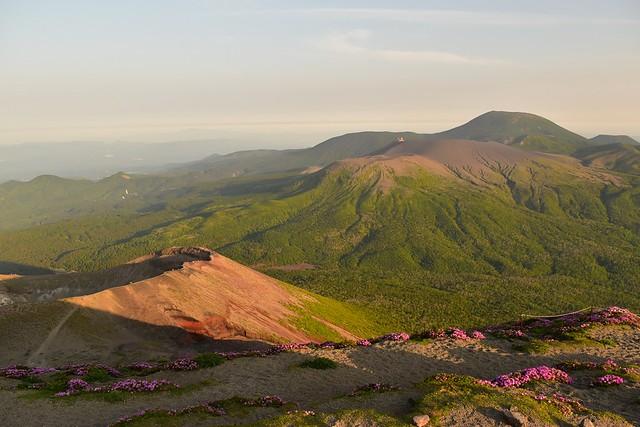 高千穂峰の御鉢~新燃岳~韓国岳