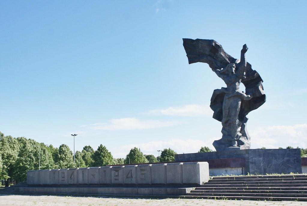 Monument à la gloire des soldats soviétiques, libérateurs de Riga.?