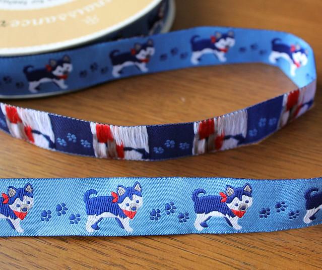 Renaissance Ribbons Novelty Husky