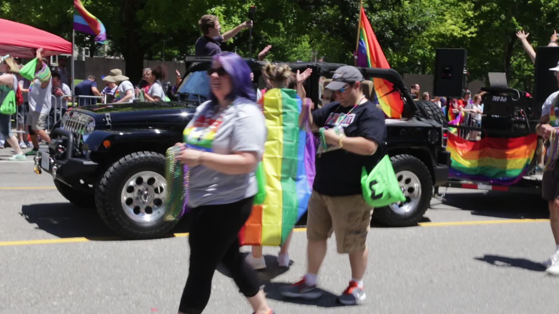 STL Pride Parade 2017-06-25 video