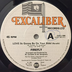 FIREFLY:LOVE(IS GONNA BE ON YOUR SIDE)(LABEL SIDE-A)