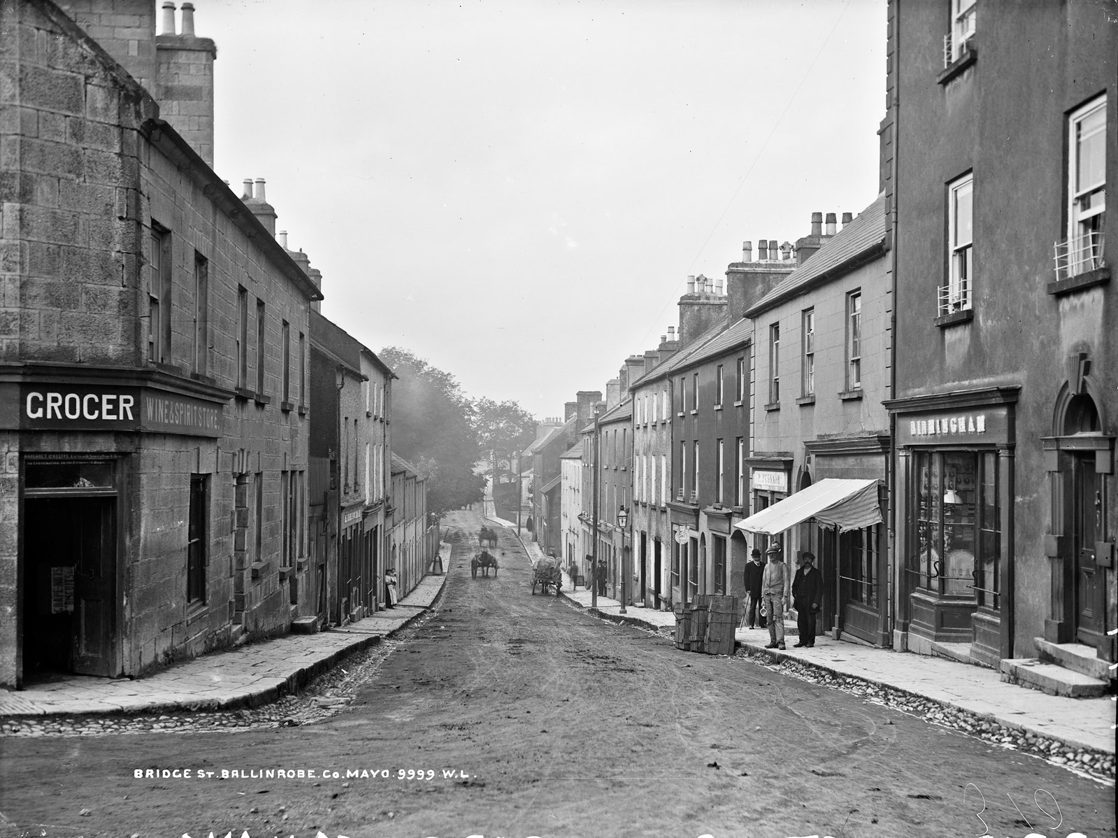 Bridge St. Ballinrobe, Co. Mayo | by National Library of Ireland on The Commons