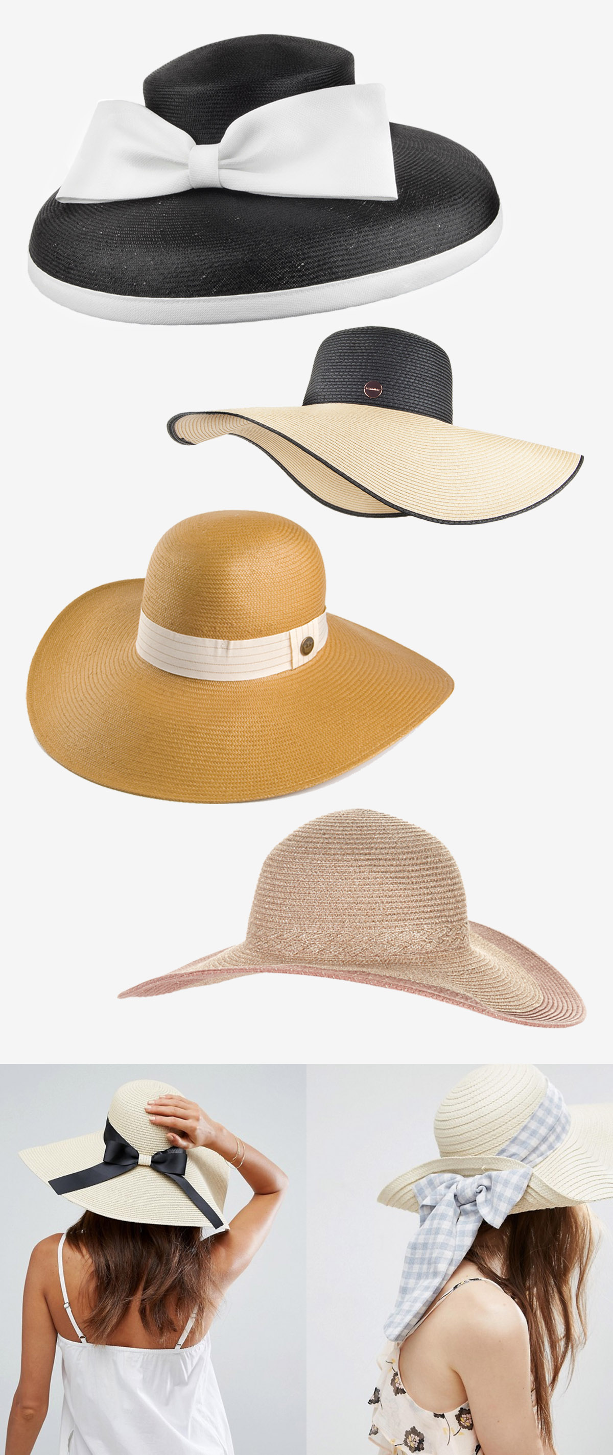 34 Modern Wedding Guest Hats and Fascinators - Floppy hats and wide brim hats