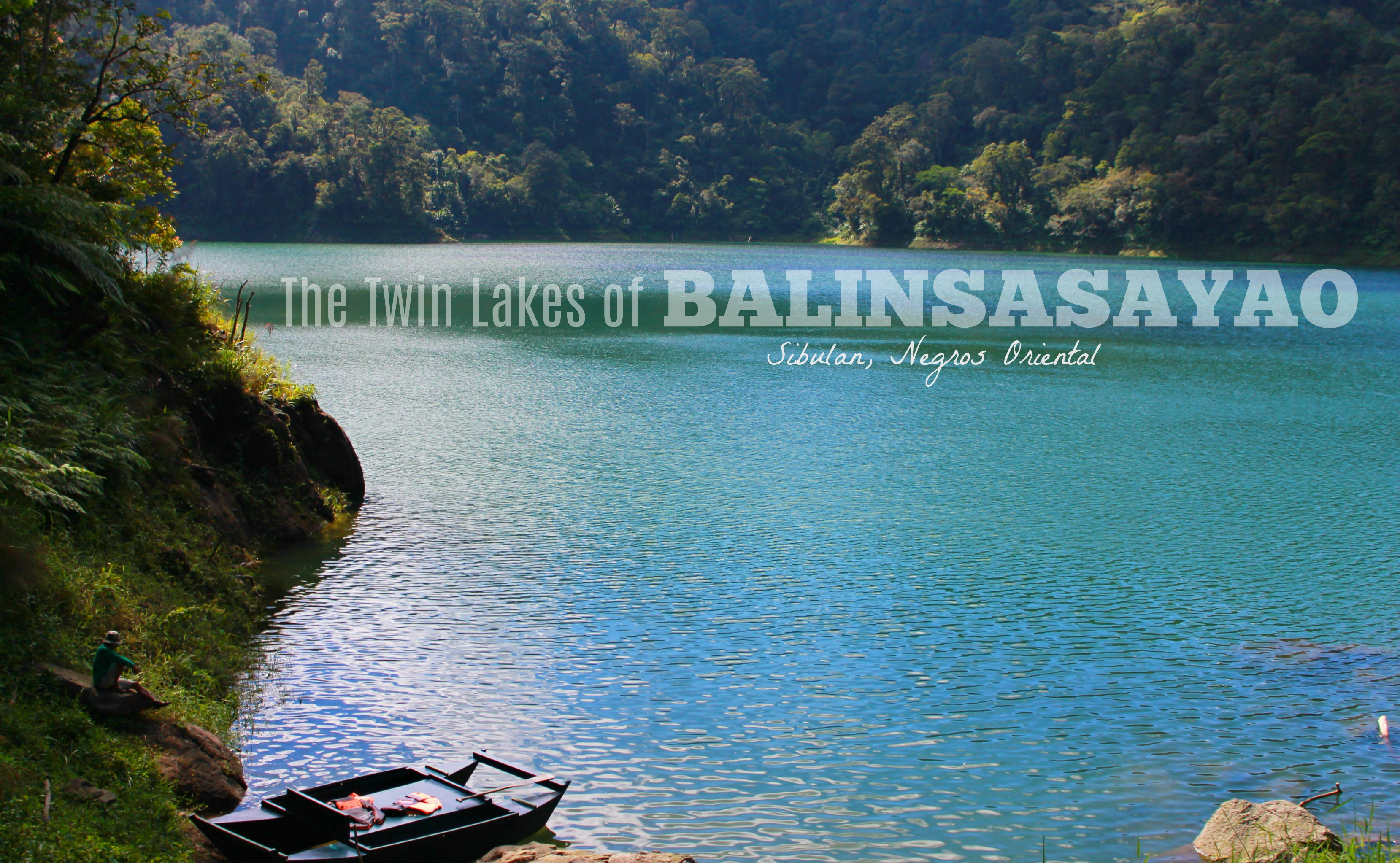 Balinsasayao Twin Lakes of Sibulan