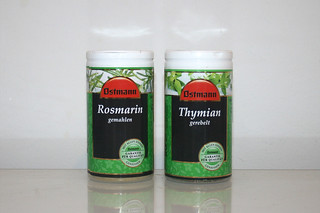 08 - Zutat Rosmarin & Thymian / Ingredient rosemary & thyme
