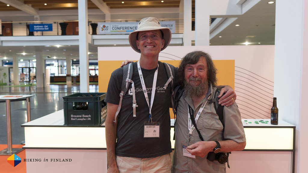 Glen Van Peski and Chris Townsend on the #OutDoorFN