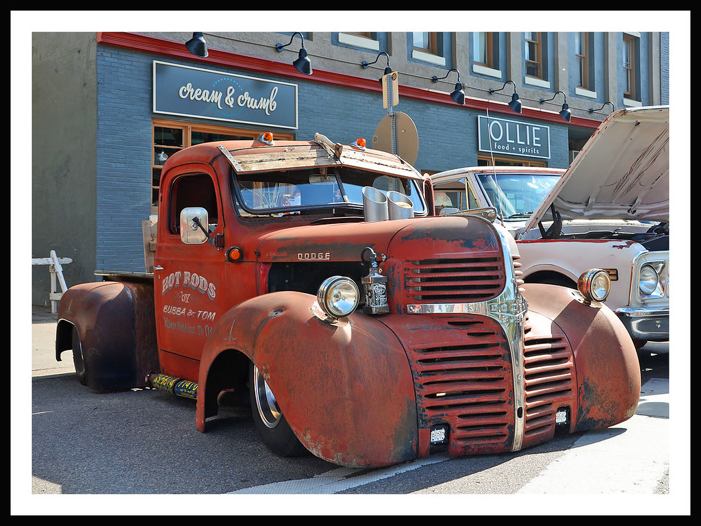 1946 Dodge Rat Rod Pickup By Bubba Amp Tom The June 8