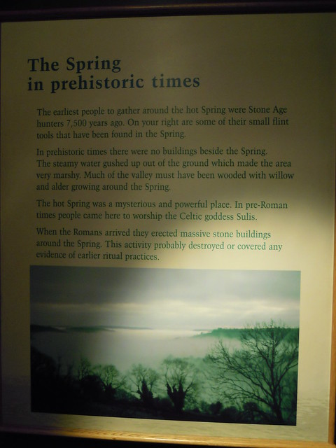The Spring in Prehistoric Time. From Studying Abroad in London: A Trip to Bath