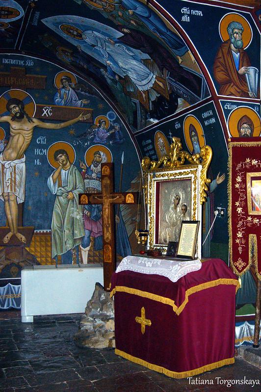 В церкви Св. Троицы