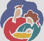 Preview of Cross Stitch Patterns: Proud New Parents