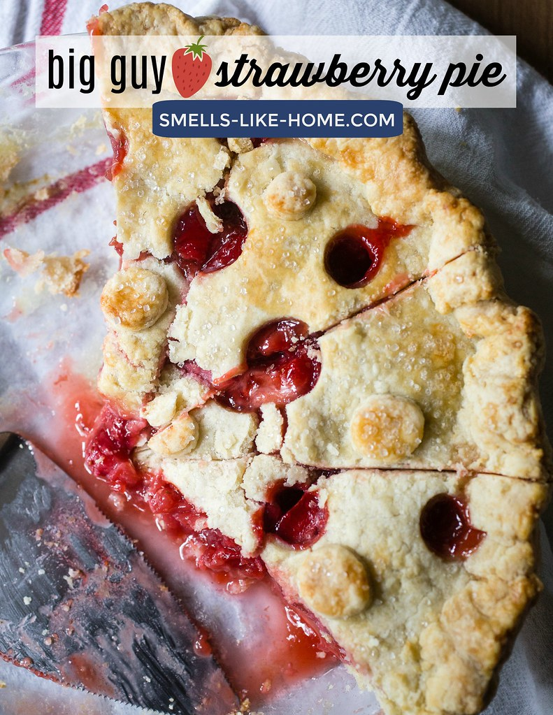 Big Guy Strawberry Pie