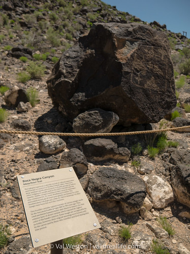 petroglyph national monument - val in real life