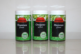 13 - Zutat Thymian, Oregano & Majoran / Ingredients thyme, oregano & majoram