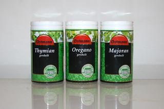 13 - Zutat Thymian, Oregano & Majoran / Ingredients thyme, oregano & majoram