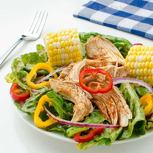 Barbecue Chicken Salad