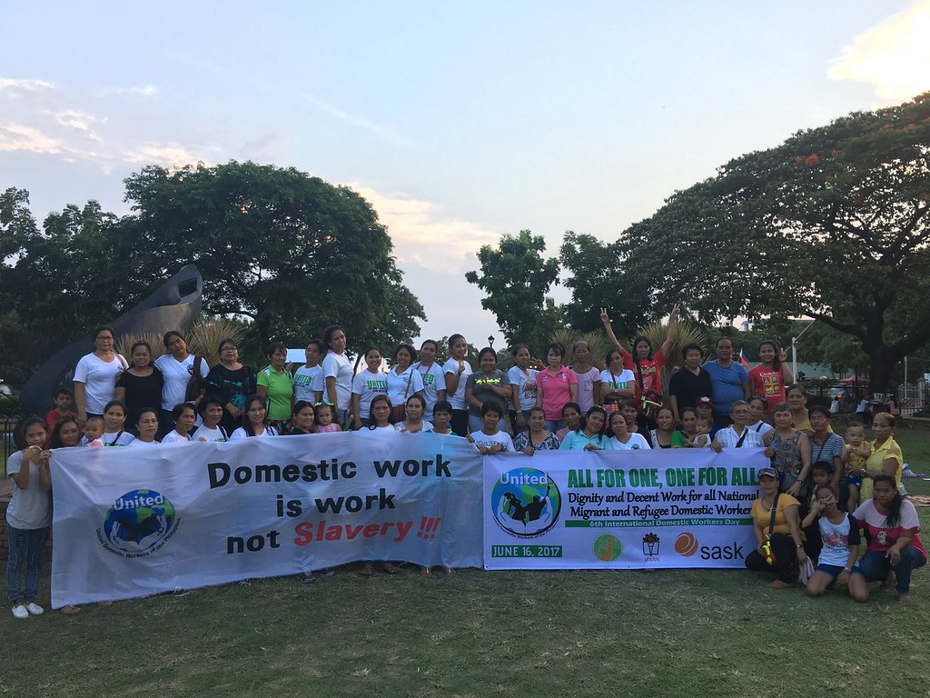 2017-6-16 Philippines: UNITED picnic style program for domestic worker members