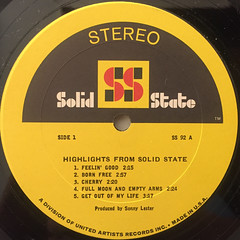 V.A.:HIGHLIGHTS FROM SOLID STATE(LABEL SIDE-A)
