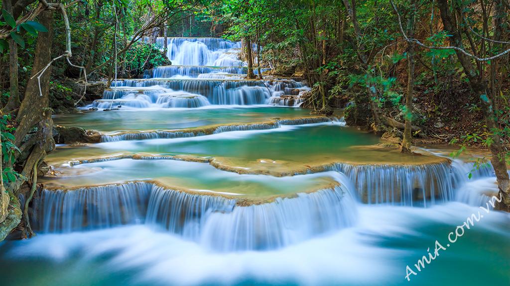 Tải hình nền thác nước đẹp từ thiên nhiên AmiA